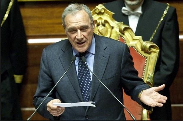 presidente del Senato Pietro Grasso